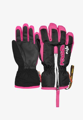 BEN - Gloves - black/knockout pink