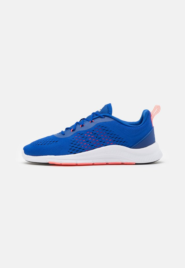 TRAINER X - Sports shoes - royal blue/signal pink/footwear white