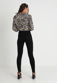 Missguided - VICE HIGH WAISTED  - Kalhoty - black - 2