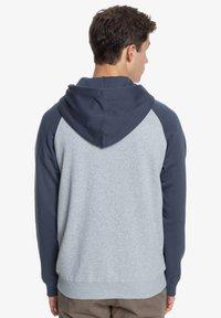 Quiksilver - EVERYDAY - Zip-up sweatshirt - light grey heather - 2