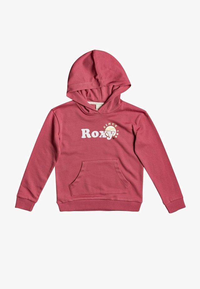 Hoodie - desert rose