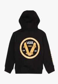 Vans - OLD SKOOL KIDS - Jersey con capucha - black - 1