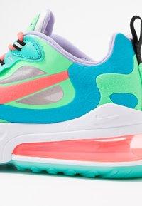 Nike Sportswear - AIR MAX 270 REACT - Trainers - electro green/flash crimson/blue lagoon/hyper jade/lavender mist/sunset pulse - 2
