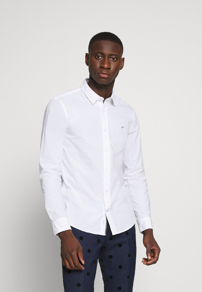 Calvin Klein - SLIM FIT - Formal shirt - white