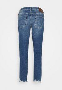 True Religion - LIV BOYFRIEND ROSEGOLD SELVAGE - Slim fit jeans - blue denim - 1