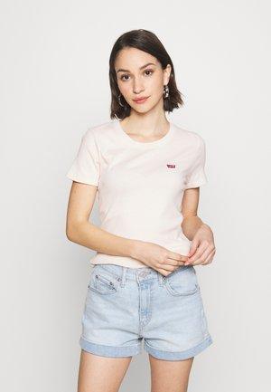 BABY TEE - T-shirt z nadrukiem - peach blush