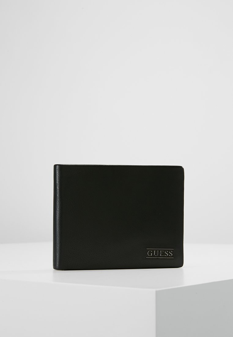 Guess - NEW BOSTON BILLFOLD COIN - Wallet - black