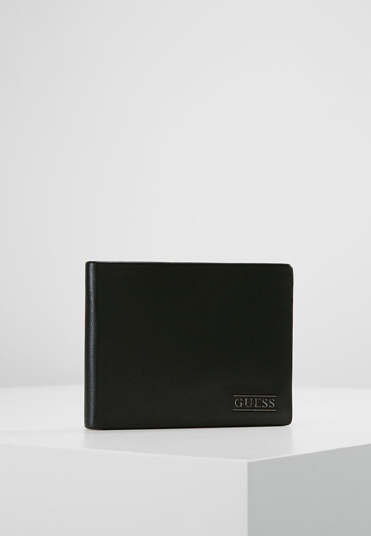 Guess - NEW BOSTON BILLFOLD COIN - Portafoglio - black