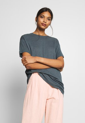 MIKKI - T-Shirt basic - dark slate
