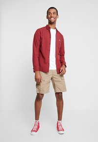 Tommy Jeans - GINGHAM SHIRT - Chemise - red - 1