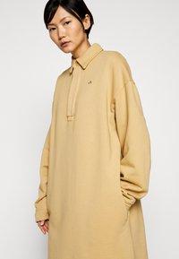 Holzweiler - BISLETT DRESS VINTAGE - Day dress - washed beige - 3