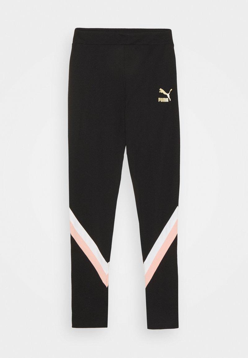 Puma - LEGGINGS - Leggings - black