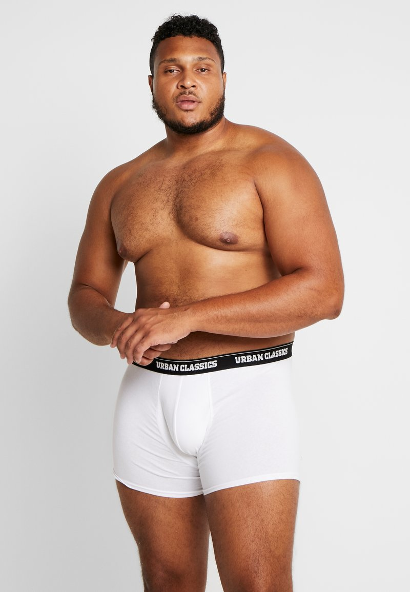 Urban Classics - 3 PACK - Pants - black/white/grey