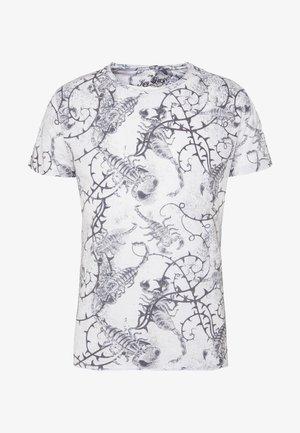 SCORPION ROUND - T-shirt print - offwhite