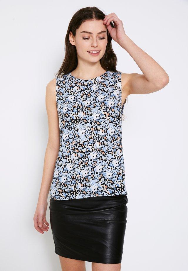 TESSA - Top - cashmere blue