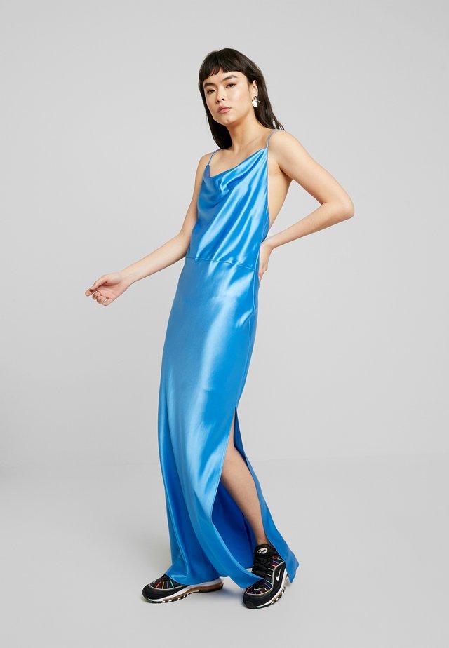 APPLES DRESS - Iltapuku - azure blue
