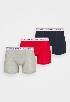 3 PACK - Shorty - navy/red