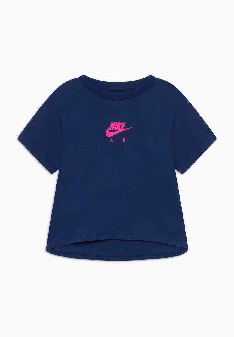 Nike Sportswear - TEE CROP AIR - Camiseta estampada - blue void