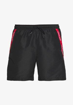 MEDIUM DRAWSTRING - Swimming shorts - black