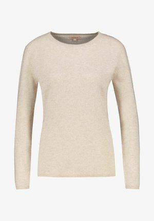 Sweatshirt - sand-melange 830