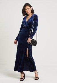NA-KD - ZALANDO X NA-KD - Společenské šaty - midnight blue - 2