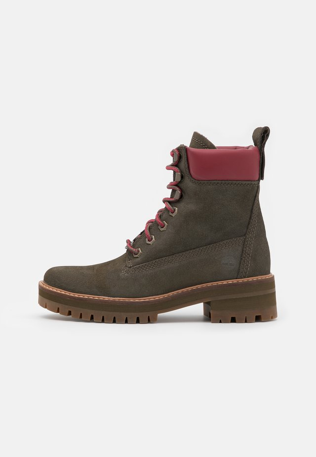 COURMAYEUR VALLEY BOOT - Plateaustiefelette - olive