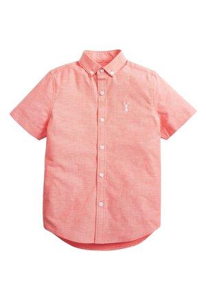 CORAL SHORT SLEEVE OXFORD SHIRT (3-16YRS) - Overhemd - orange