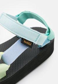 Teva - MIDFORM UNIVERSAL UNISEX - Chodecké sandály - light green/multicolor - 5