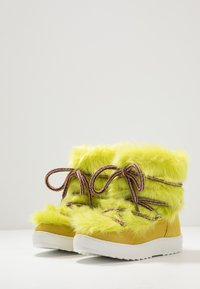 Colors of California - Lace-up ankle boots - lime - 2