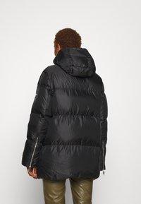 MICHAEL Michael Kors - LOGO TAPE ECO PUFFER - Down jacket - black - 2