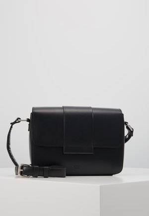 APRIL CROSSBODY - Axelremsväska - black