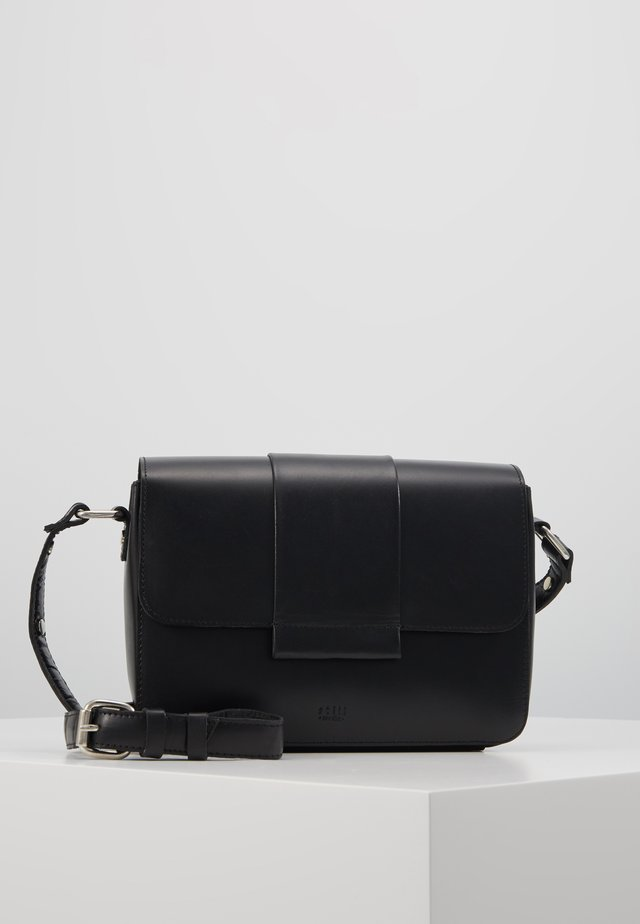 APRIL CROSSBODY - Olkalaukku - black