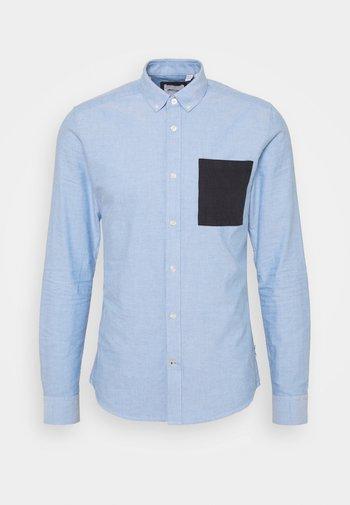 ONSALVARO LIFE CONTRAST OXFORD - Skjorta - cashmere blue