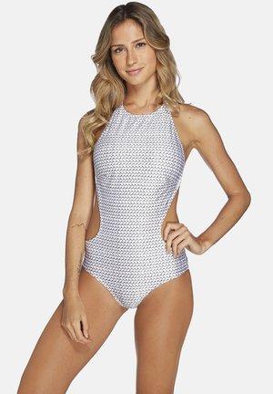 TARGA,APRON BACKLESS - Swimsuit - grey
