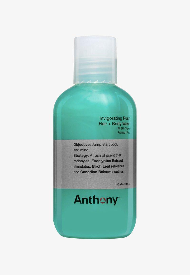 Anthony - INVIGORATING RUSH HAIR + BODY WASH 100ML - Szampon - -