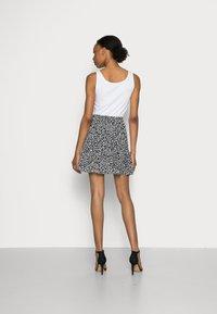 Marks & Spencer London - SOFT SKI - A-line skirt - black - 2