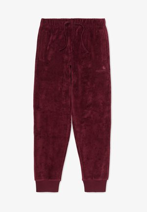 UNITED SCRIPT - Tracksuit bottoms - red