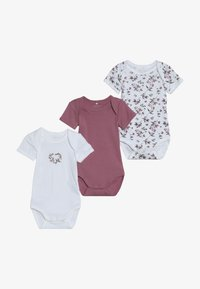 Name it - NBFBODY FLOWER 3 PACK - Pyžamo - heather rose - 4