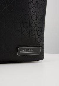 Calvin Klein - INDUSTRIAL MONO SLIM LAPTOP BAG - Aktovka - black - 8