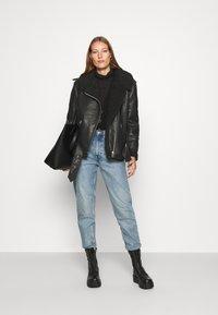 Carin Wester - JACKET SIGNE - Faux leather jacket - black - 1