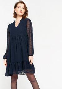 LolaLiza - RUFFLED  - Day dress - navy blue - 0