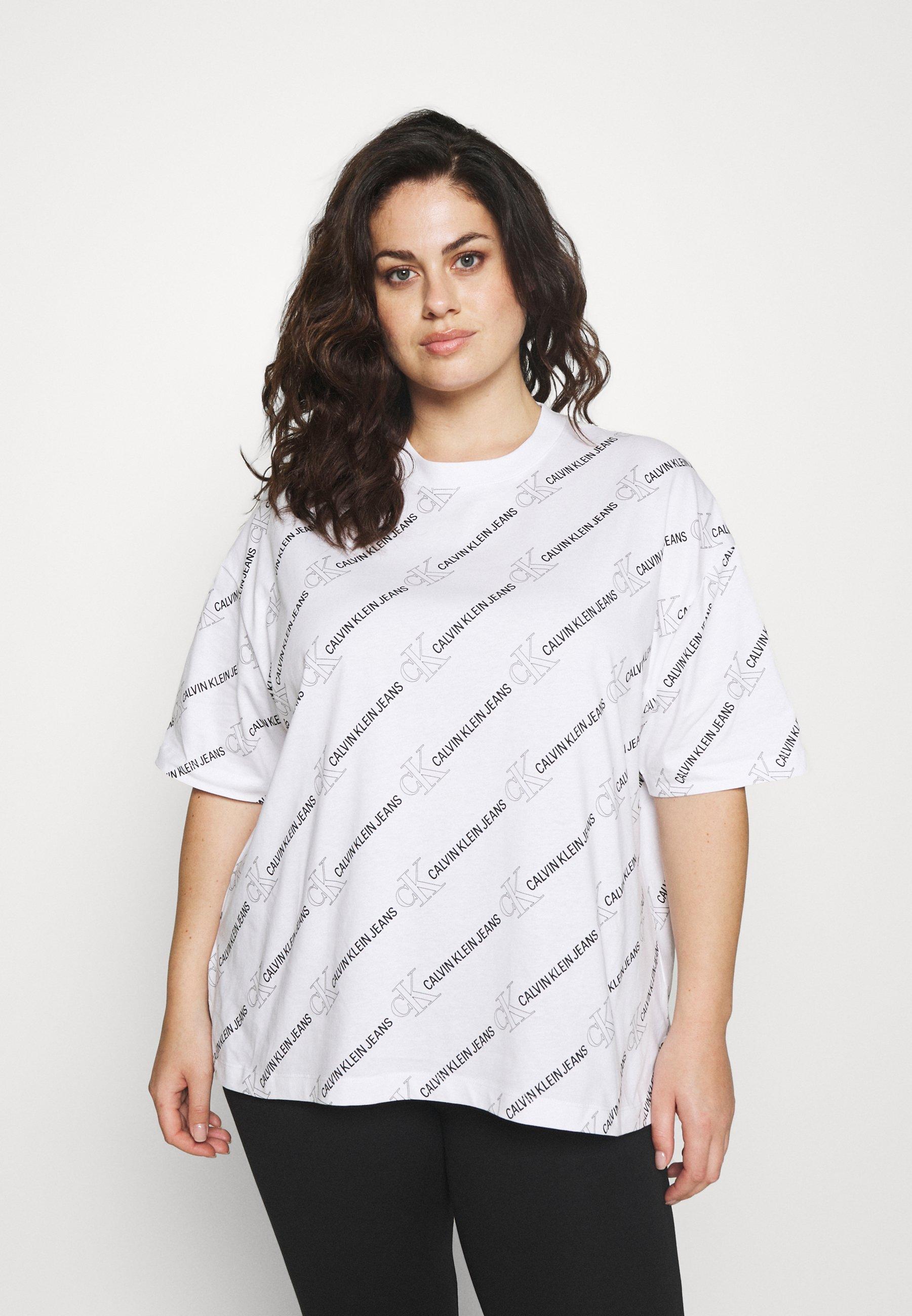 Damen LOGO TEE - T-Shirt print