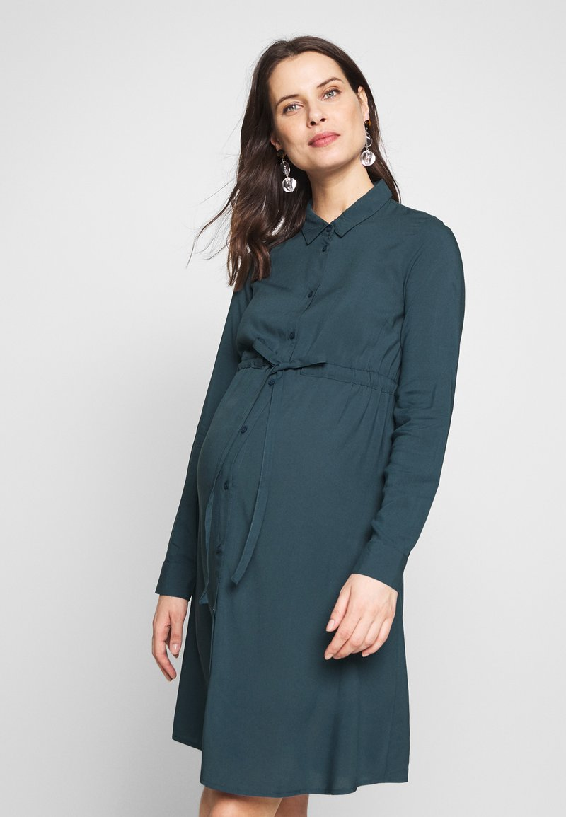 MAMALICIOUS - MLLOUISA DRESS - Jerseyjurk - orion blue