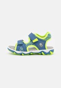 Superfit - MIKE 3.0 - Walking sandals - blau/gelb - 0