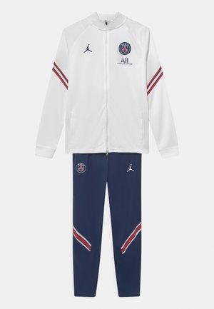 PARIS ST. GERMAIN SET UNISEX - Klubbkläder - white/midnight navy