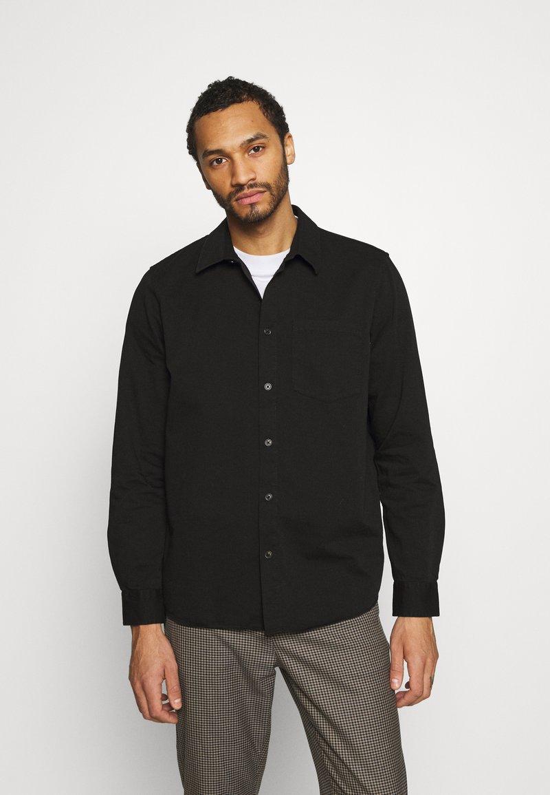 Nudie Jeans - CHET - Camisa - black