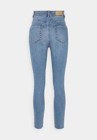 mine to five TOM TAILOR - SKINNY WITH OPEN HEM - Jeans Skinny Fit - light stone blue denim - 1