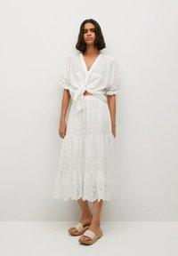 Mango - A-line skirt - hvit - 1