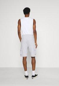 Solid - Shorts - light grey melange - 2