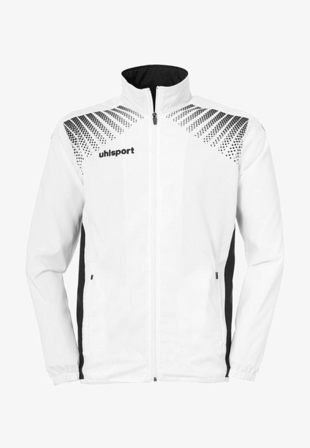 Laufjacke - weiß / schwarz